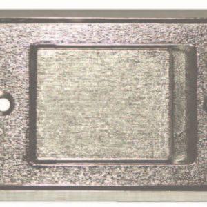 Saugsteckdose Metall chrom – 150122