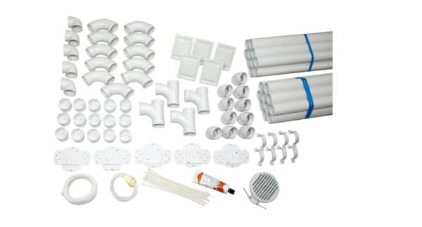 Rohrmaterial Komplettset TS 2