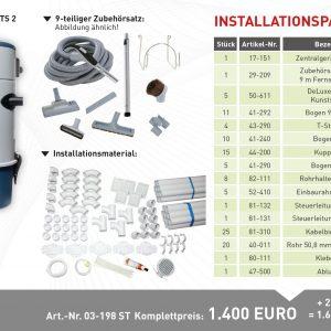 Installationspaket TS 2
